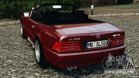 Mercedes-Benz SL 500 AMG 1995 [Final] pour GTA 4 Vue arrière de la gauche