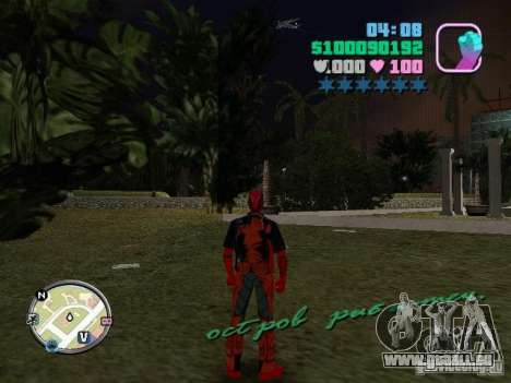 Deadpool für GTA Vice City zweiten Screenshot