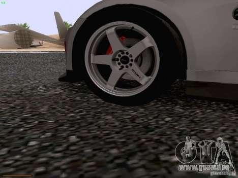 Nissan 350Z Nismo S-Tune für GTA San Andreas Innen