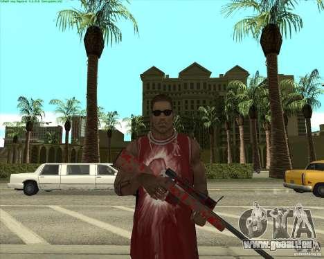Blood Weapons Pack für GTA San Andreas neunten Screenshot