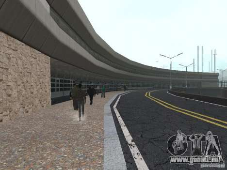 New Airport San Fierro für GTA San Andreas