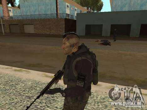 Captain MacTavish pour GTA San Andreas quatrième écran