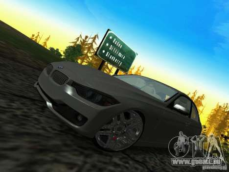 BMW 335i F30 Coupe pour GTA San Andreas