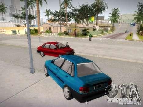 Kia Pride 131 pour GTA San Andreas vue de droite
