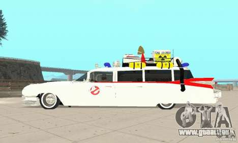 Ghostbusters ECTO 1 pour GTA San Andreas vue de droite