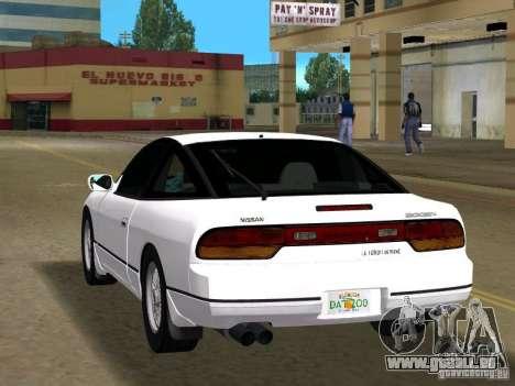 Nissan 200SX pour une vue GTA Vice City de la gauche