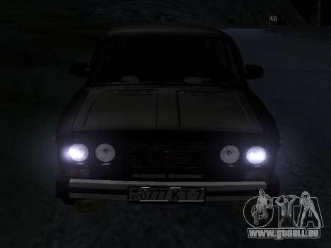 21065 VAZ v2.0 pour GTA San Andreas vue intérieure