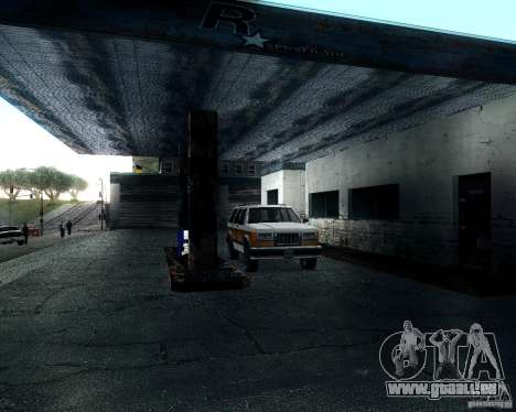 Landstalker pour GTA San Andreas vue intérieure