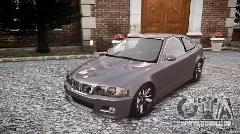 BMW 3 Series E46 v1.1 pour GTA 4