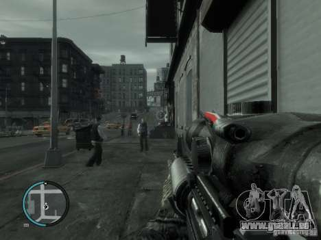 Die M4a1 für GTA 4 Sekunden Bildschirm