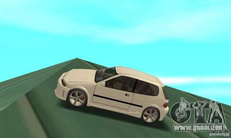 Honda Civic SiR II Tuning für GTA San Andreas linke Ansicht