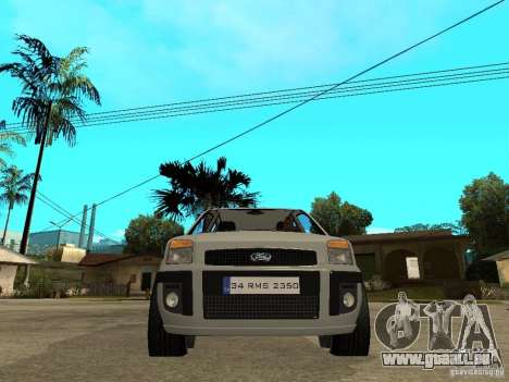 Ford Fusion 2009 pour GTA San Andreas vue de droite