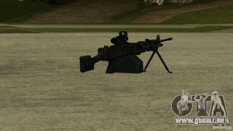 M240 für GTA San Andreas
