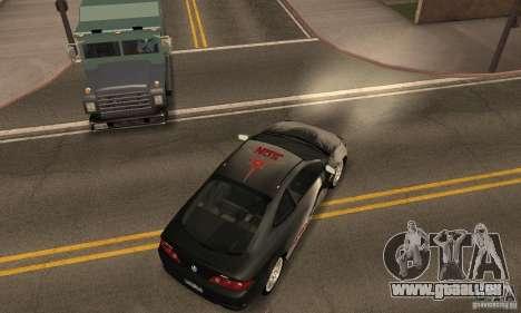 Acura RSX New für GTA San Andreas Unteransicht