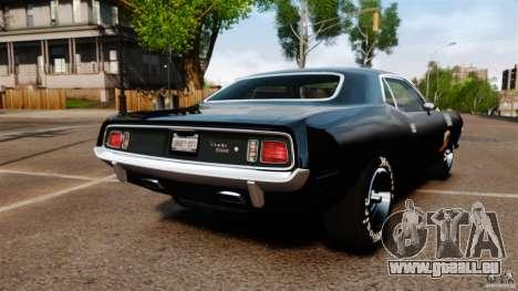 Plymouth Cuda 1971 [EPM] Mopar für GTA 4 hinten links Ansicht