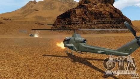 Bell AH-1 Cobra für GTA 4 Innenansicht