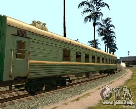 La voiture des chemins de fer russes 2 pour GTA San Andreas
