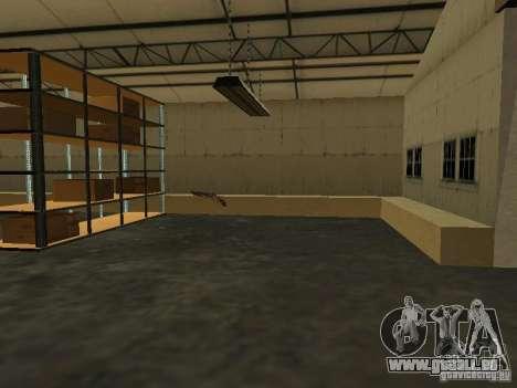 Renouvellement de la base militaire sur les quai pour GTA San Andreas sixième écran
