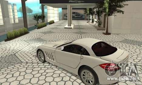 Mercedes-Benz McLaren V2.3 pour GTA San Andreas vue intérieure