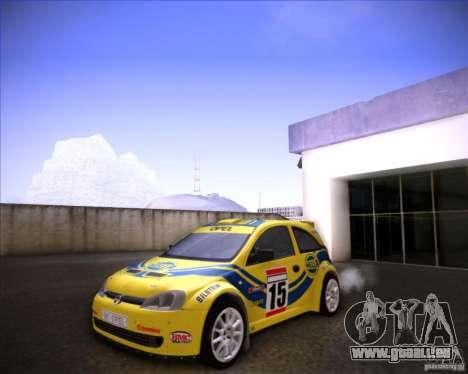 Opel Corsa Super 1600 pour GTA San Andreas