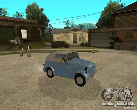 SMZ s-3 a pour GTA San Andreas vue de droite