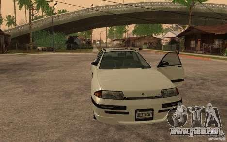 Schicht von GTA IV für GTA San Andreas zurück linke Ansicht