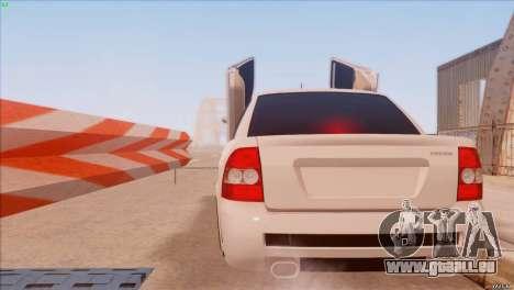 LADA 2170 Sport pour GTA San Andreas laissé vue