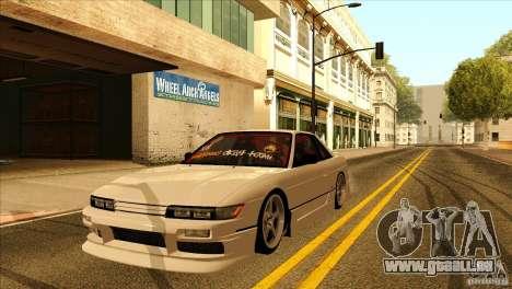 Nissan Silvia S13 MyGame Drift Team für GTA San Andreas Seitenansicht