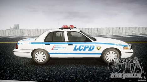 Ford Crown Victoria Police Department 2008 LCPD für GTA 4 Rückansicht