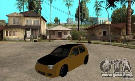 VW Golf 4 R32 für GTA San Andreas