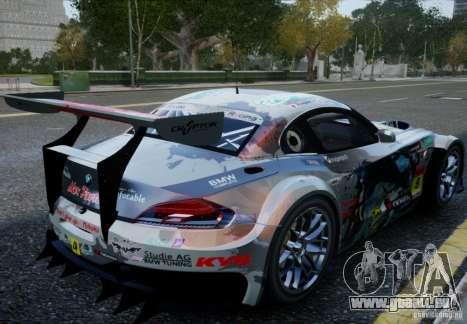 BMW Z4 GT3 2010 V.2.0 pour GTA 4 est une gauche