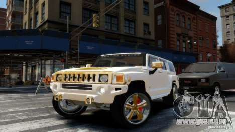 Hummer H3 2005 Gold Final für GTA 4