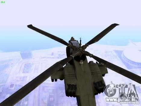 HD Hunter pour GTA San Andreas vue intérieure
