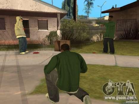 Deux scripts pour une meilleure protection pour GTA San Andreas deuxième écran