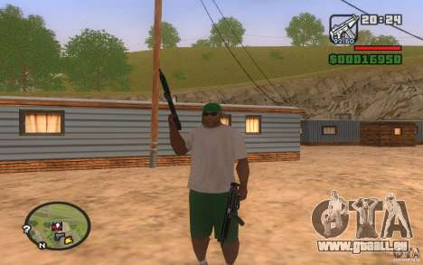 Double weapons für GTA San Andreas