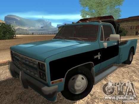 Chevrolet Towtruck pour GTA San Andreas laissé vue