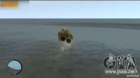 Éléphant pour GTA 4 troisième écran