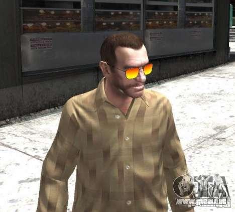 Sunnyboy Sunglasses pour GTA 4 troisième écran