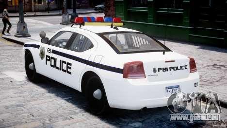 Dodge Charger FBI Police für GTA 4 rechte Ansicht