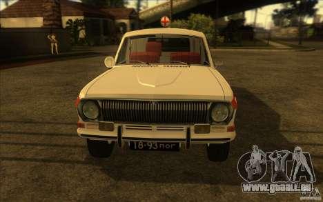 GAZ-24 Wolga 03-Ambulanz für GTA San Andreas rechten Ansicht
