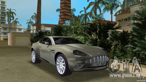 Aston Martin V12 Vanquish 6.0 i V12 48V für GTA Vice City