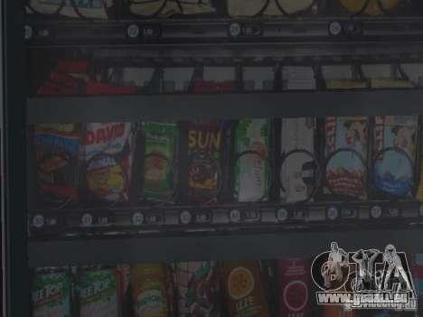 HD Machines v1 pour GTA San Andreas troisième écran