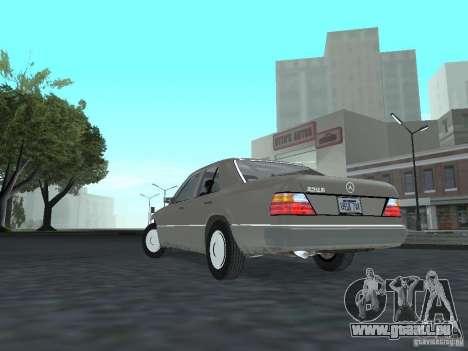 Mercedes-Benz 250D pour GTA San Andreas sur la vue arrière gauche