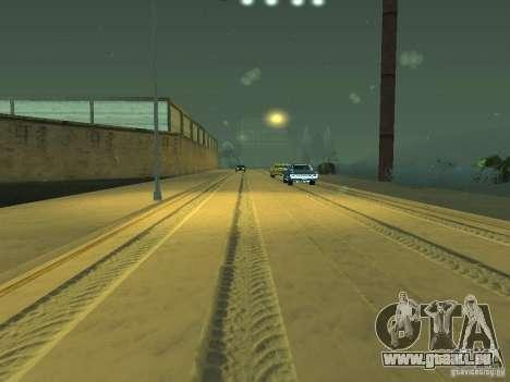 Neige v 2.0 pour GTA San Andreas neuvième écran