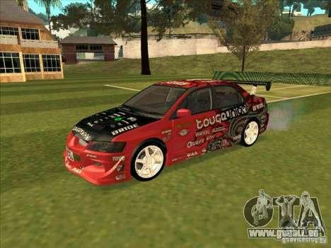 Mitsubishi Evo 9 Touge Union pour GTA San Andreas