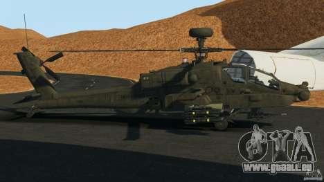 Boeing AH-64 Longbow Apache v1.1 pour GTA 4 est une gauche