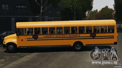School Bus v1.5 für GTA 4 linke Ansicht