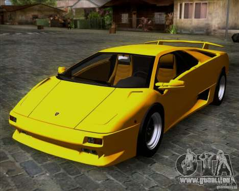 Lamborghini Diablo VTTT Black Revel für GTA San Andreas