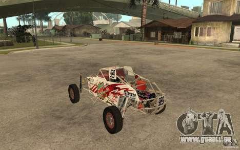 CORR Super Buggy 1 (Schwalbe) pour GTA San Andreas sur la vue arrière gauche