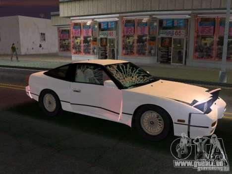 Nissan 200SX pour GTA Vice City vue arrière